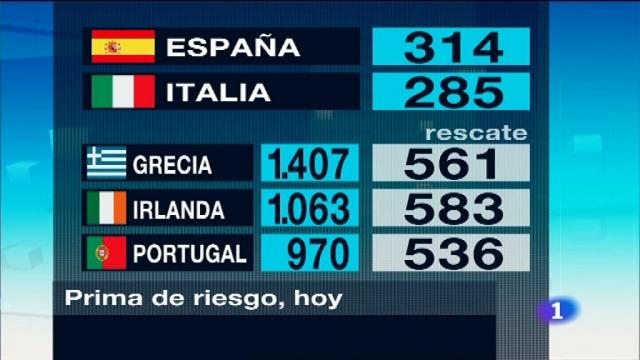 Telediario - 21 horas - 12/07/11