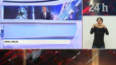 Telediario - 21 horas - 17/11/18 - Lengua de signos