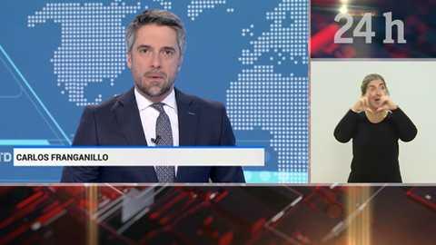 Telediario - 21 horas - 17/12/18 - Lengua de signos