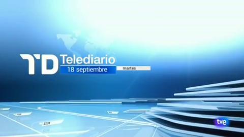 Telediario - 21 horas - 18/09/18