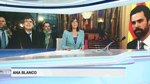 Telediario - 21 horas - 22/01/18