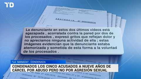 Telediario - 21 horas - 26/04/18