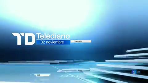 Telediario - 8 horas - 02/11/18