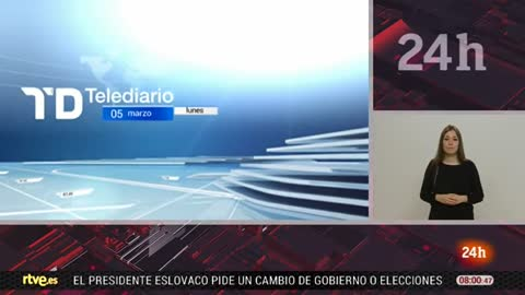 Telediario 8 horas - 05/03/18 - Lengua de signos