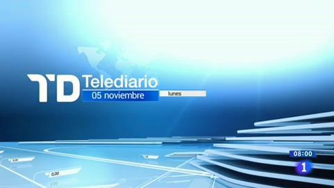 Telediario - 8 horas - 05/11/18