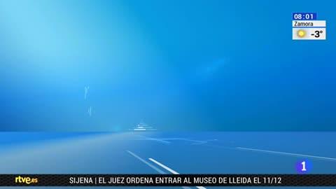 Telediario - 8 horas - 05/12/17