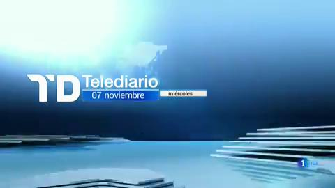 Telediario - 8 horas - 07/11/18