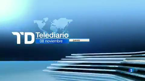 Telediario - 8 horas - 08/11/18