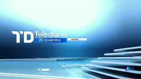 Telediario - 8 horas - 09/11/18