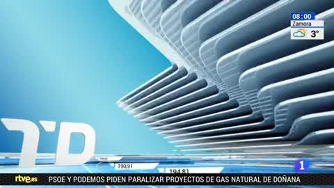 Telediario - 8 horas - 11/01/18