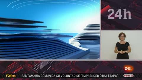 Telediario - 8 horas - 11/09/18 - Lengua de signos