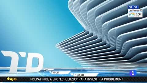 Telediario - 8 horas - 12/01/18