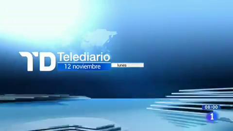 Telediario - 8 horas - 12/11/18