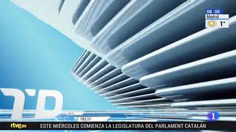 Telediario - 8 horas - 15/01/18