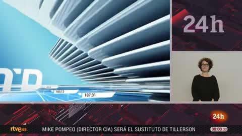 Telediario - 8 horas - 15/03/18 - Lengua de signos
