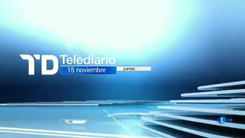 Telediario - 8 horas - 15/11/18