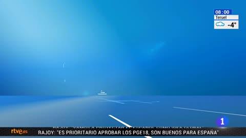 Telediario - 8 horas - 16/01/18