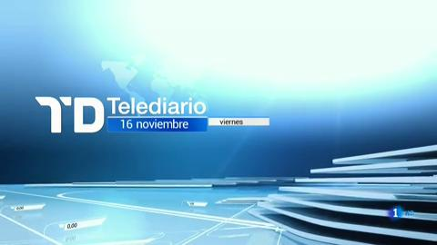 Telediario - 8 horas - 16/11/18