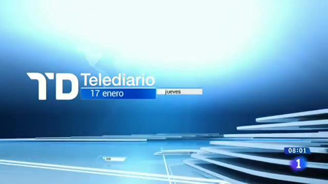 Telediario - 8 horas - 17/01/19