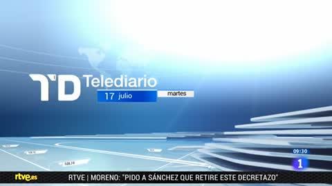 Telediario - 8 horas - 17/07/18