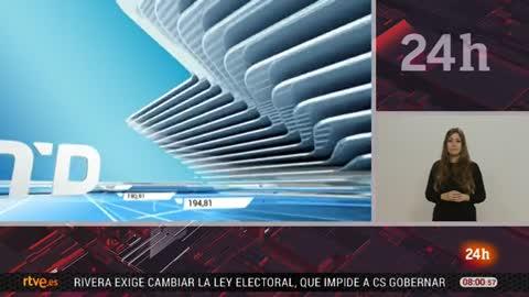 Telediario - 8 horas - 19/03/18 - Lengua de signos