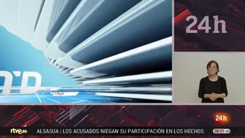 Telediario - 8 horas - 19/04/18 - Lengua de signos