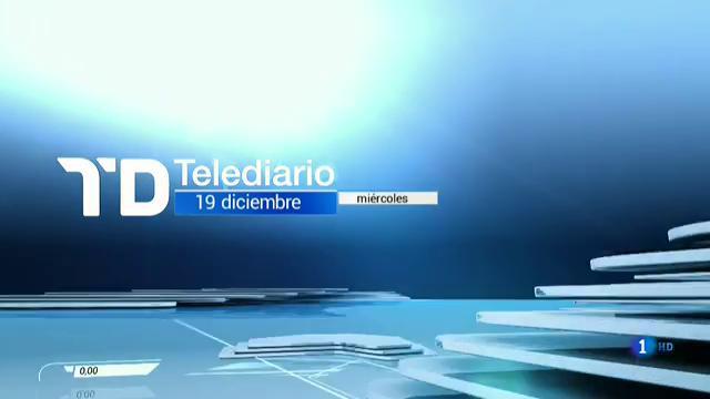 Telediario - 8 horas - 19/12/18