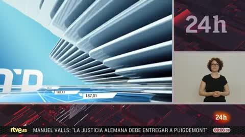 Telediario - 8 horas - 20/04/18 - Lengua de signos