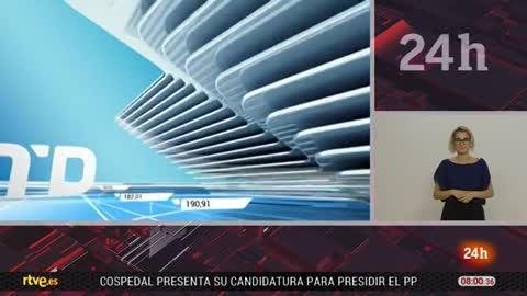 Telediario - 8 horas - 21/06/18 - Lengua de signos