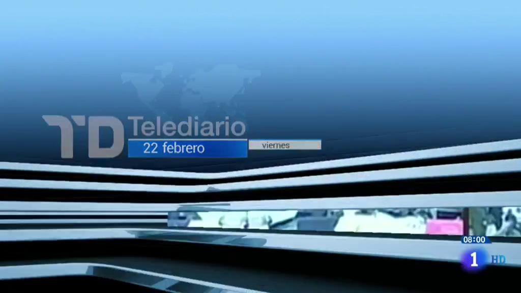 Telediario - 8 horas - 22/02/19