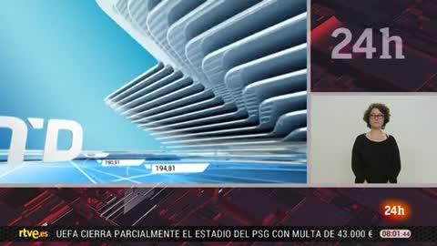 Telediario - 8 horas - 23/03/18 - Lengua de signos