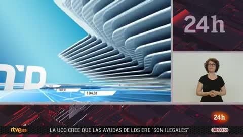 Telediario - 8 horas - 25/04/18 - Lengua de signos