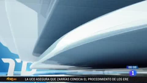 Telediario - 8 horas - 25/04/18