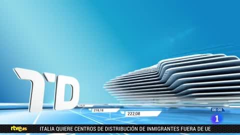 Telediario - 8 horas - 25/06/18