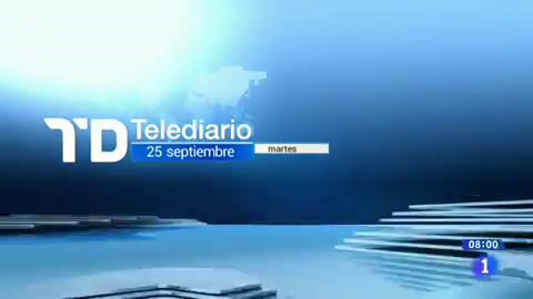 Telediario - 8 horas - 25/09/18