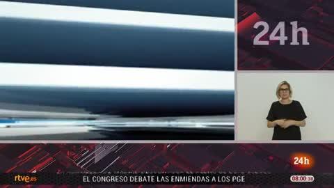 Telediario - 8 horas - 26/04/18 - Lengua de signos