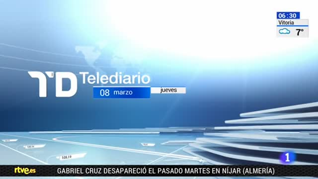 Telediario Matinal en cuatro minutos - 08/03/2018