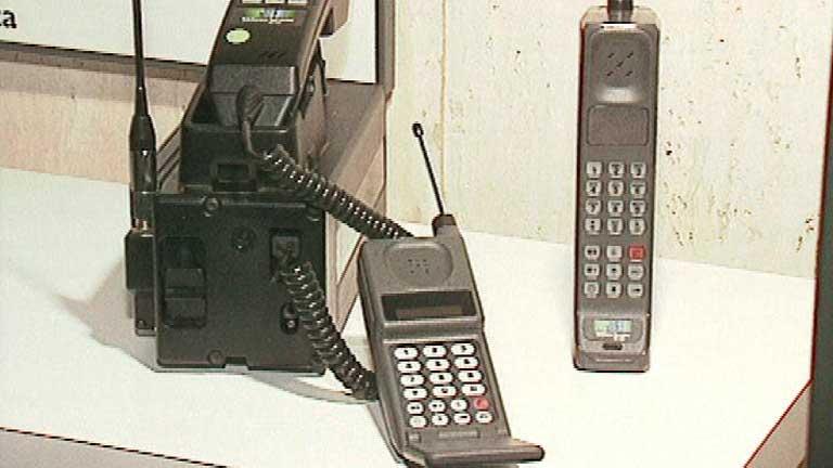 Recuerdos de los inicios de la telefonía móvil