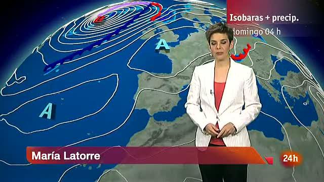Temperaturas altas en Canarias y en los valles del Tajo y Guadalquivir