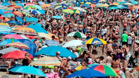 Temperaturas significativamente altas en el valle del Ebro y área mediterránea