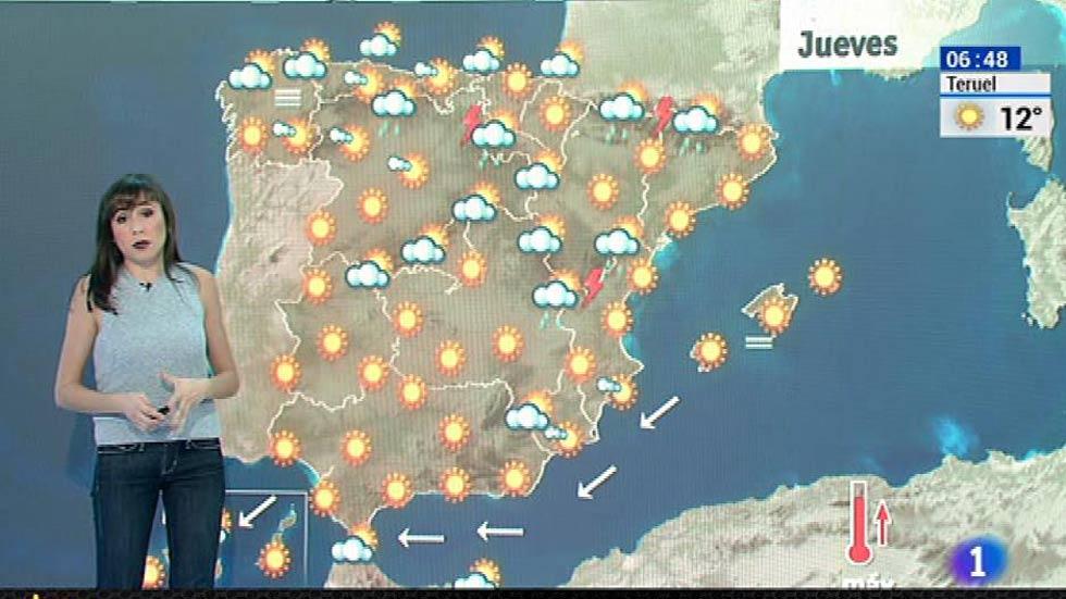 Las temperaturas siguen subiendo y los cielos estarán despejados