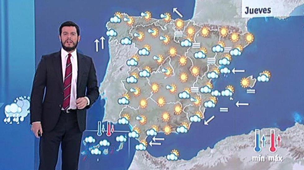Temporal en Canarias y predominio de cielos despejados en la Península