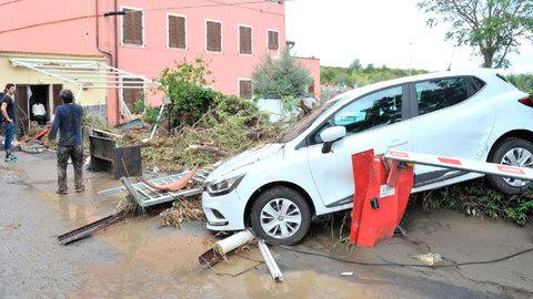 El temporal en Italia deja al menos seis muertos
