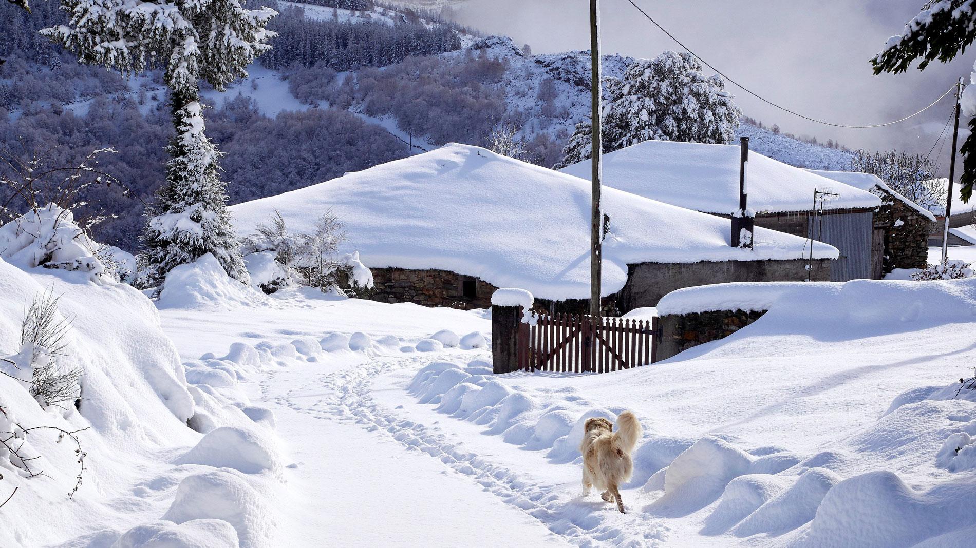El temporal de nieve y frío mantiene en aviso a 34 provincias