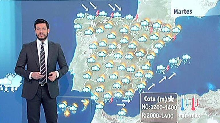 El temporal se desplaza al este peninsular y Baleares