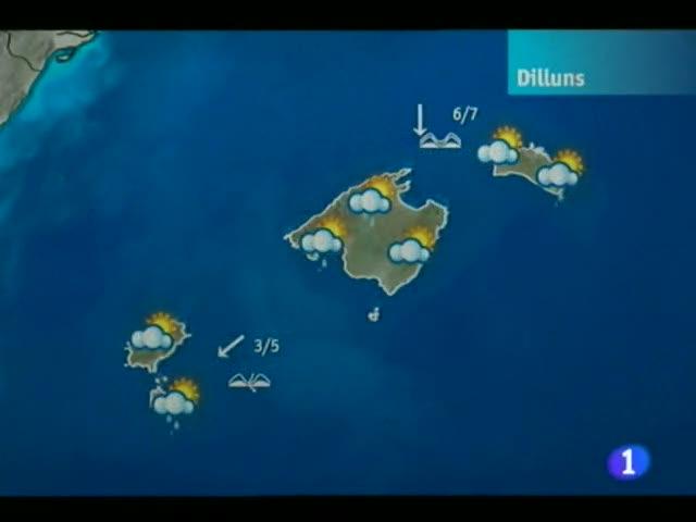 El temps a les Illes Balears - 05/03/12
