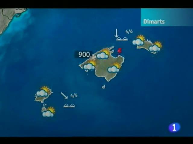 El temps a les Illes Balears - 06/03/12