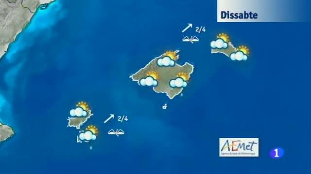 El temps a les Illes Balears - 07/11/14