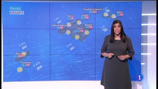 El temps a les Illes Balears - 09/11/18