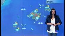 El temps a les Illes Balears - 10/01/18